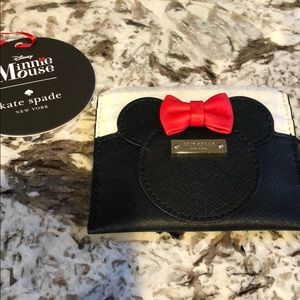 NEW Kate Spade Minnie Mouse Card Case